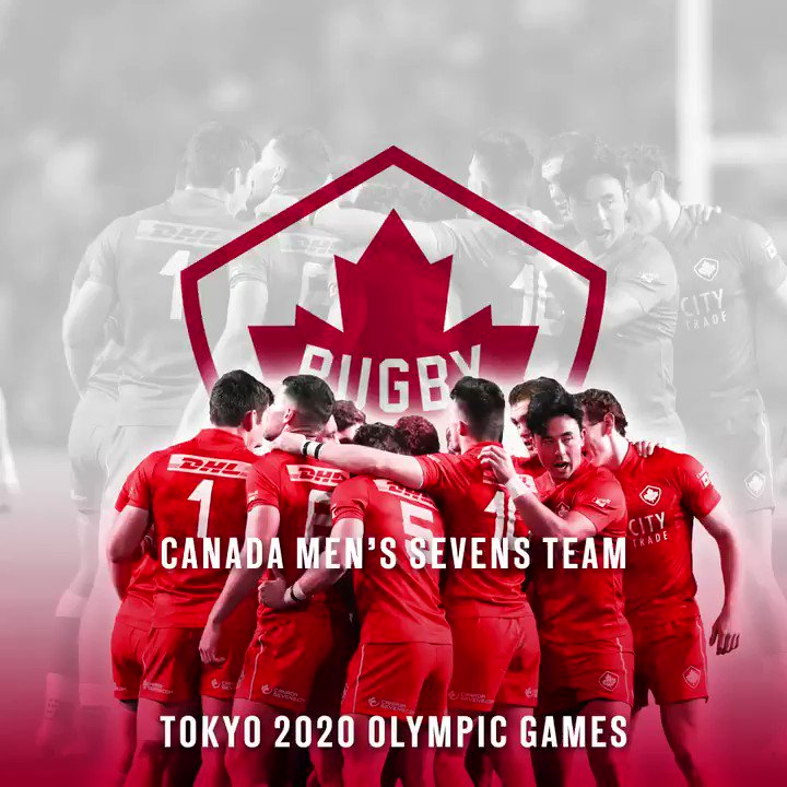 QUALIFIED!!   Canada's Men's Sevens team are headed to the Tokyo 2020 Olympic Games!!!! 🏉🍁 #<a target=