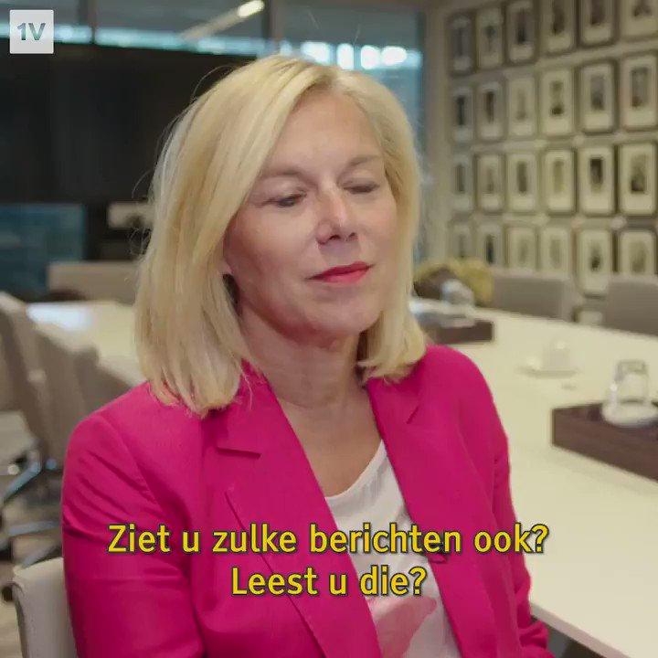"""Minister Sigrid Kaag over Twitter bij EenVandaag: """"Kan afvoerputje zijn"""""""