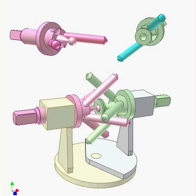 Pin Universal Joint