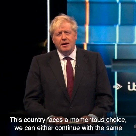 Only @BorisJohnson will...  ✅ Deliver Brexit by October 31st ✅ Unite our Country ✅ Defeat Jeremy Corbyn  #ITVDebate #BackBoris
