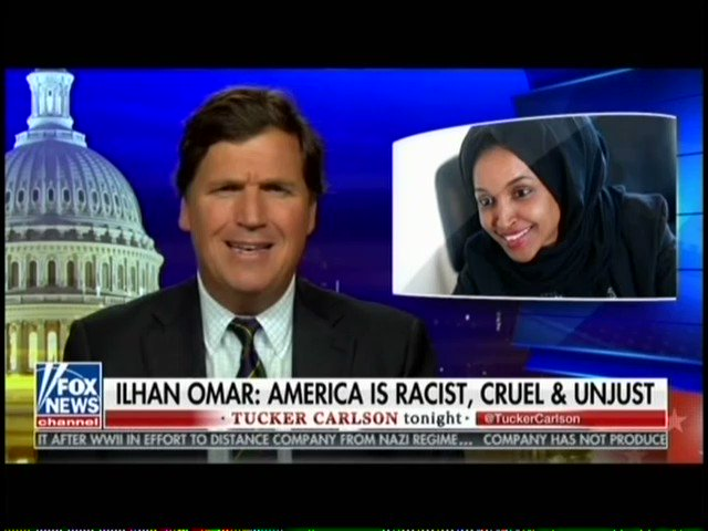 'She Learned Young That Crying Racism Pays' — Tucker Blasts Omar's Racism Charge And Her Attempts To Silence Him