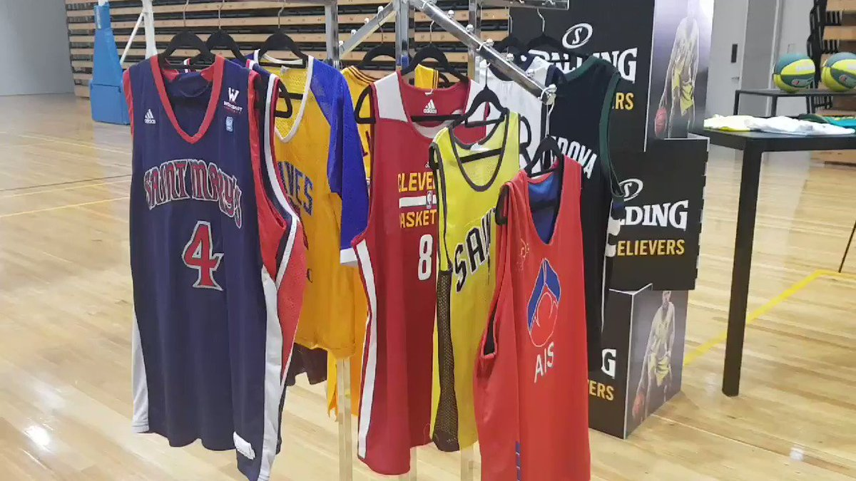 The official @matthewdelly jersey collection ! #AussieHoops @Spalding
