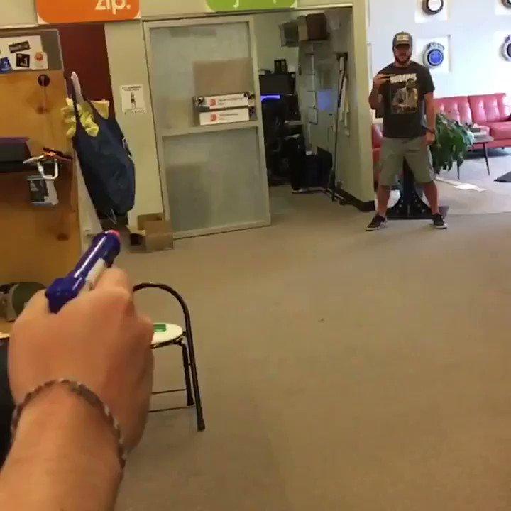 The real chopstick ninja #hopkinswatsonchallenge @deshaunwatson @DeAndreHopkins https://t.co/zxKj1KvB4B