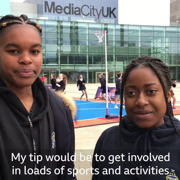 'Get involved in loads of sports and activities so you can make more friends' Nervous about #StartingSecondarySchool? Don't be! Here's all you need to know 👉http://bbc.in/2UUyqEE #GetInspired #bbcnetball #NWC2019 #ThisIsNetball @bbcbitesize
