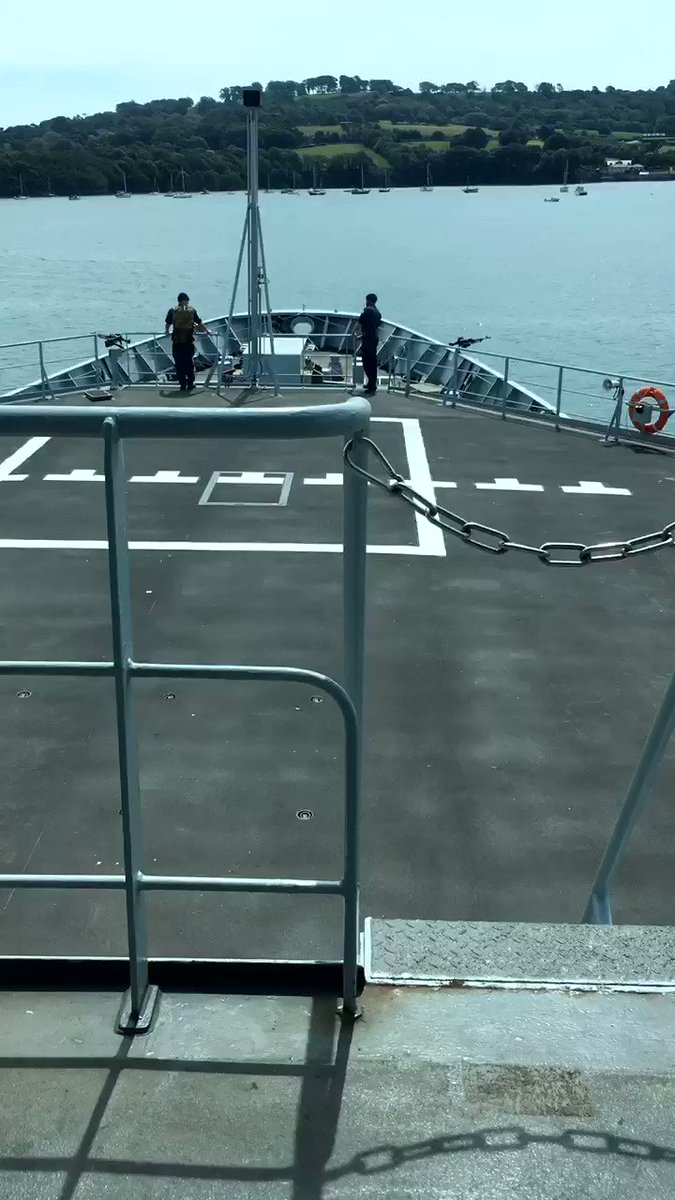 #CaptainsLog entry and exit from @HMNBDevonport is one of the more challenging serials for our trainee #RoyalNavy #navigators. In spite of the #yachts and #boats I think they #nailedit 👏👏👇⚓️🌊🚢