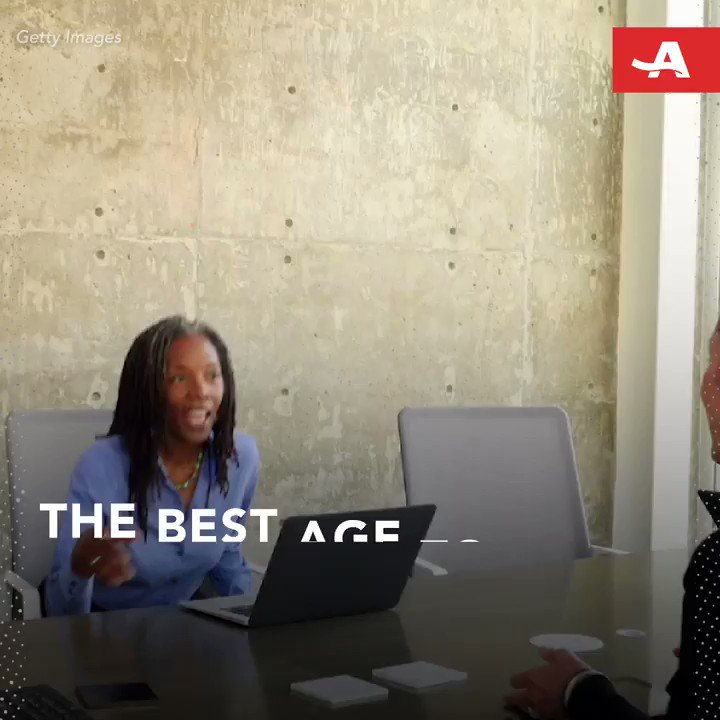 The best age for starting a business is… #DisruptAging