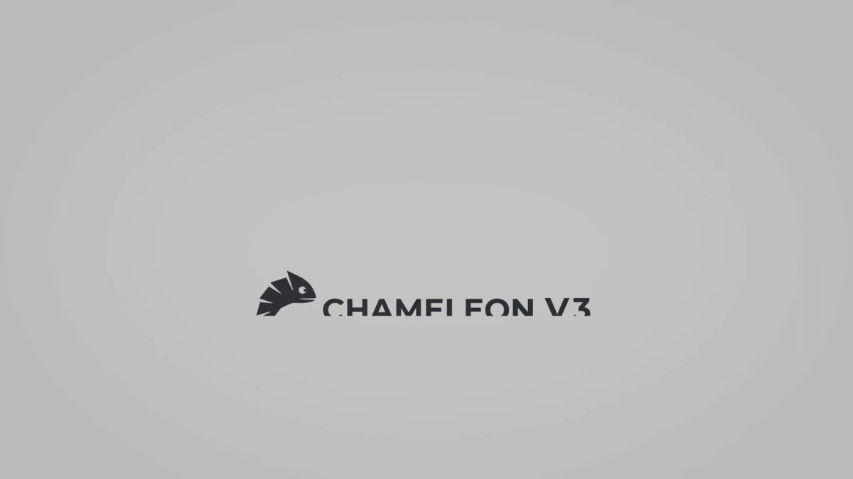 Image for the Tweet beginning: Chameleon Pay v3 is now