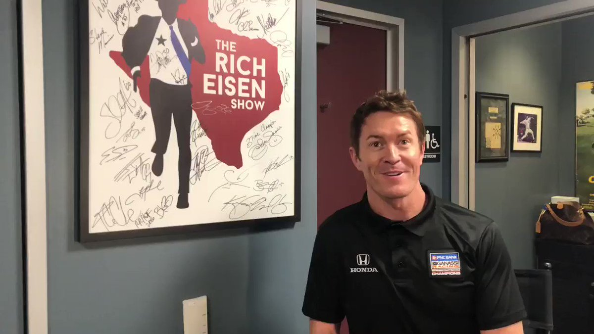 Joining us next in-studio is 5-time @IndyCar Champ @scottdixon9! The #NewZealand native is up for the #BestDriver award at tonight's #ESPY's. Tune in! @AudienceSports @brlive @Honda