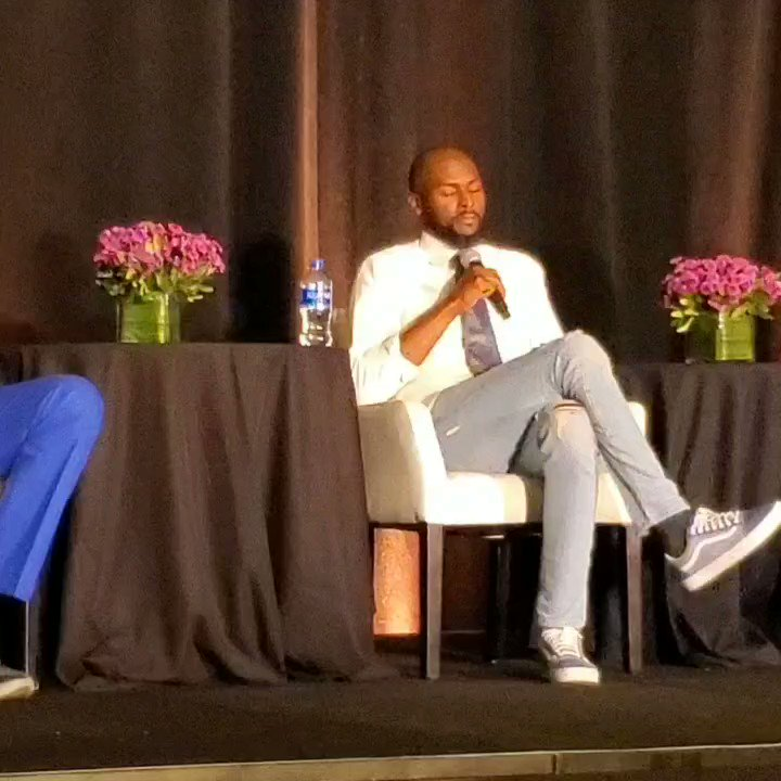Yesterday @Keyon_Dooling reflected on what the @NBA has meant for him and the life lessons he learned from playing under Pat Riley & Doc Rivers via @NBAalumni #LegendsConference
