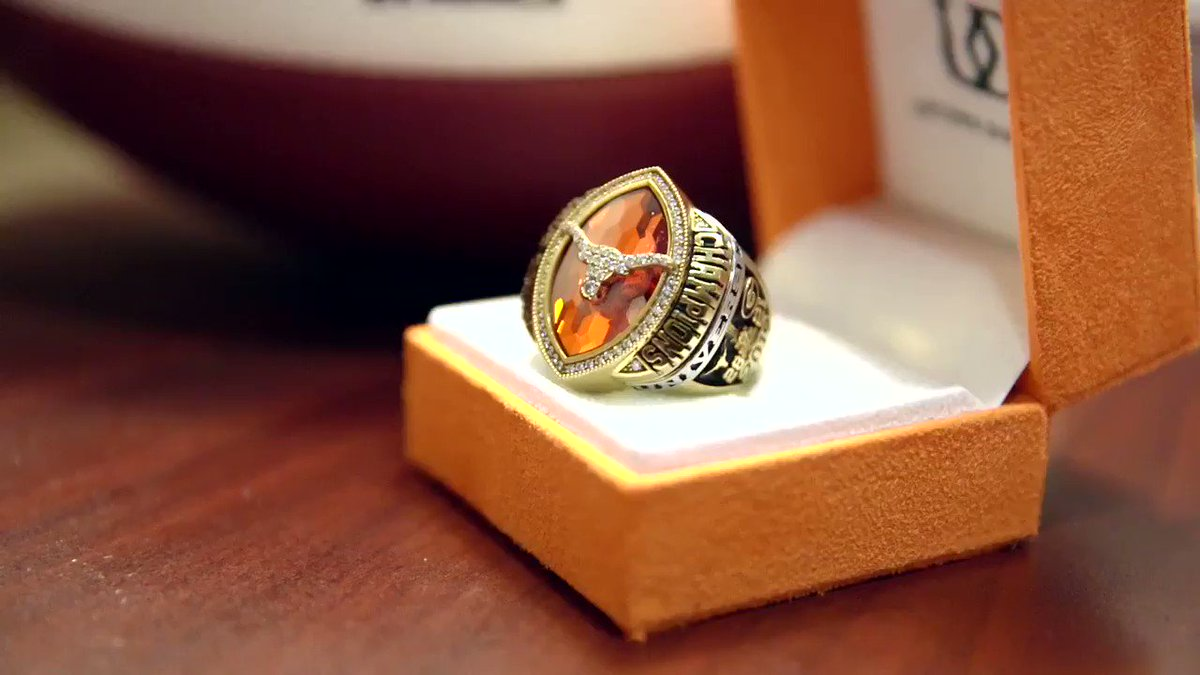 Texas Football Unveils Rings From Sugar Bowl Victory