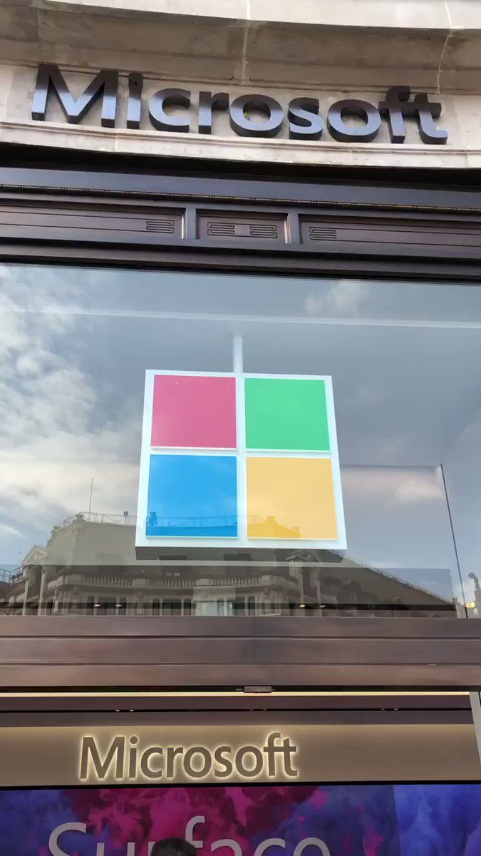 Microsoft Store in London is officially open #MicrosoftLDN
