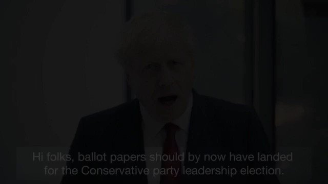 It's time for change. Please vote for me so I can deliver Brexit by 31st October, unite our country and defeat Jeremy Corbyn.  If you haven't received your ballot by now, please visit: http://backboris.com/ballot