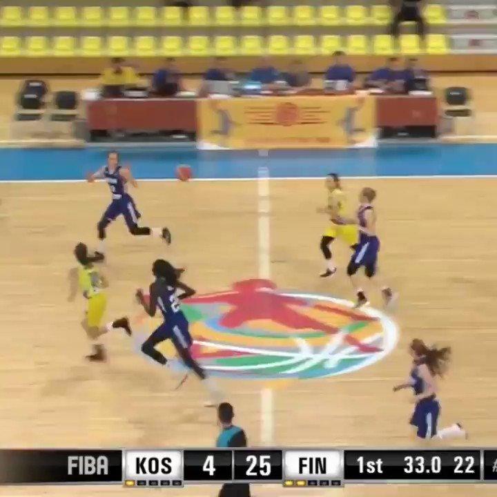 THEY REALLY TRIED IT 👀 (via @FIBA)