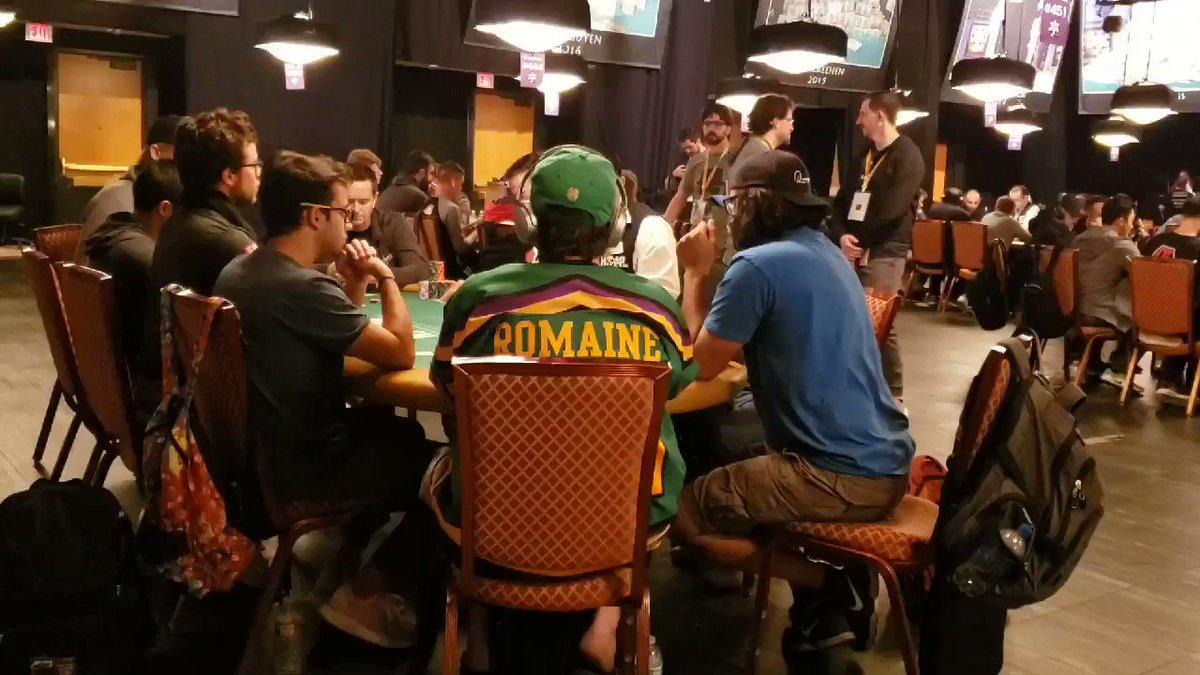 Day 6 - World Series of Poker Main Event 2019. @WSOP @RioVegas