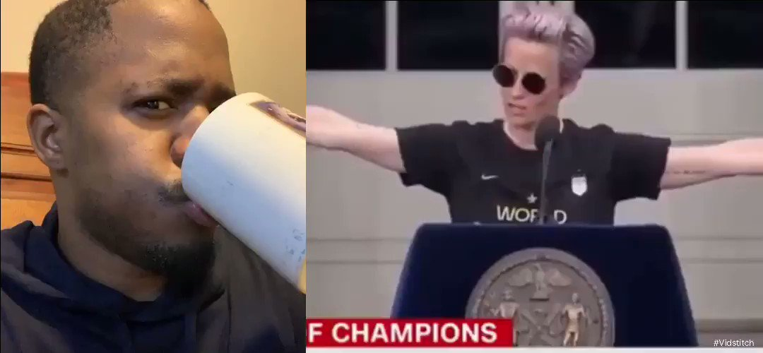 Twitter was down today so just Incase you missed it!   I had some words to say to Megan Rapinoe   Who screams MotherF***er on national TV while representing America?  RT if you thinks she an embarrassment!
