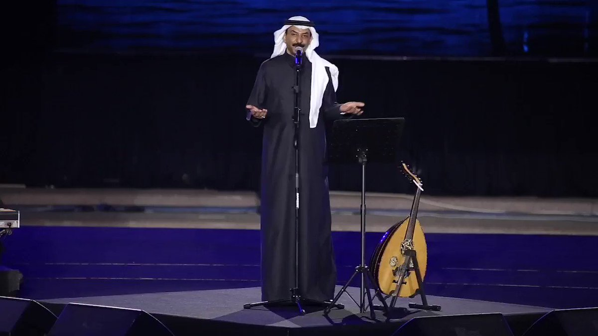 RT @RotanaMusic: #عبادي_الجوهر_في_الباحة 🇸🇦 #كلمة_ولو_جير_خاطر  🎼 #حفلات_صيف_الباحة @abadialjohar1  @Enjoy_Saudi https://t.co/0e3RqF84aY