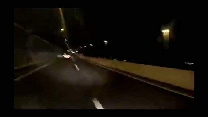 煽り パトカー