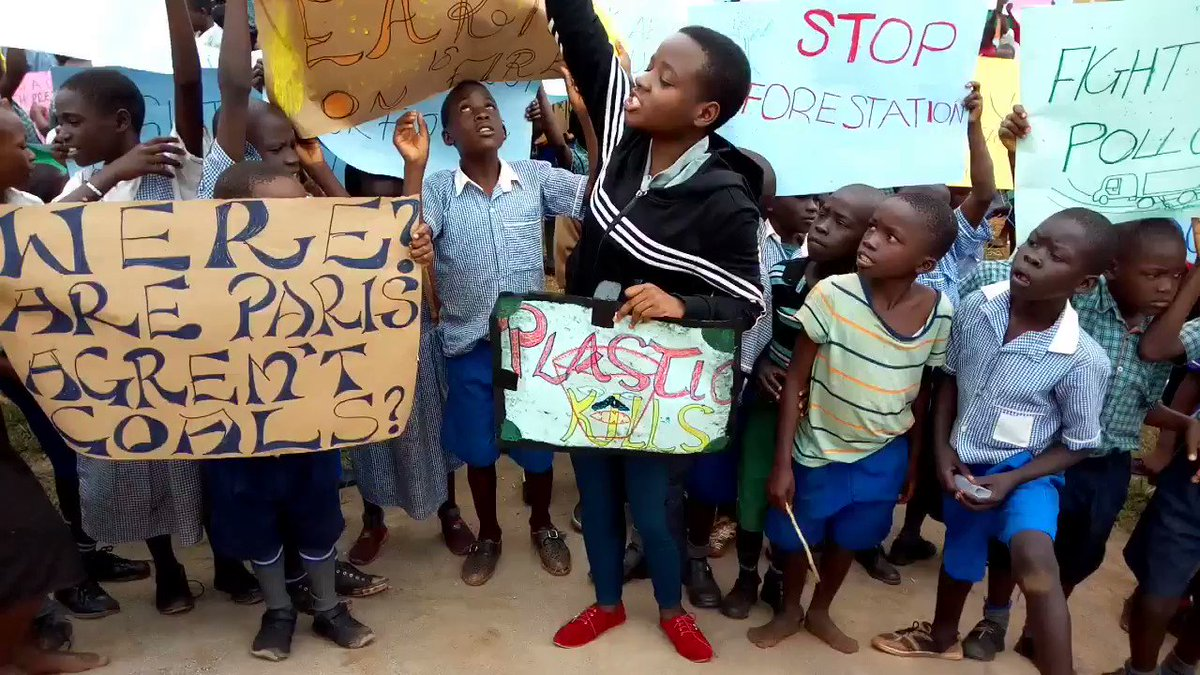We've just started, crowds are swelling. Stay tuned for Uganda's largest #ClimateStrike #FridaysForFuture @GretaThunberg @Greenpeace @350 #BanPlasticUG @SwedeninUG