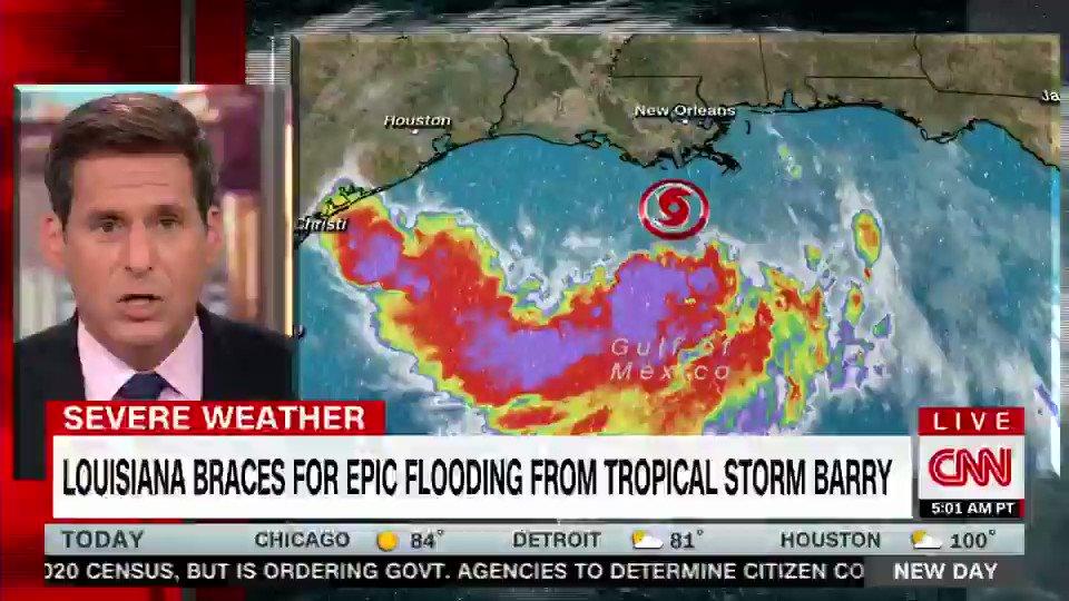 @CNNweather's photo on #TropicalStormBarry