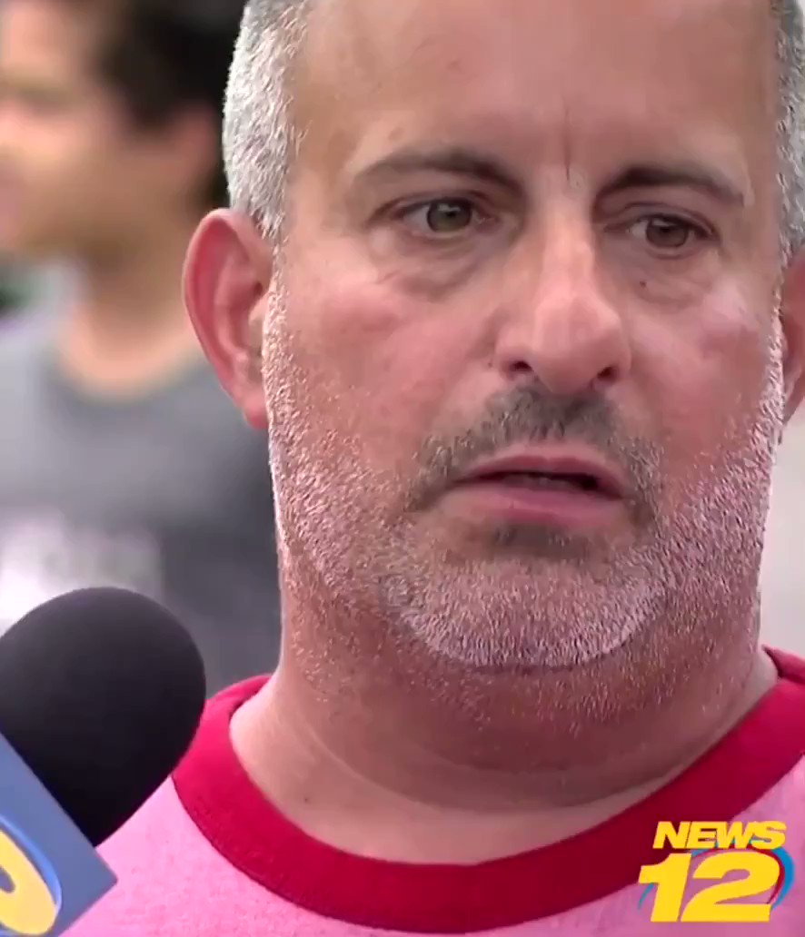 Angry bagel boss freak out guy Chris Morgan gets interviewed in Long Island 🤣