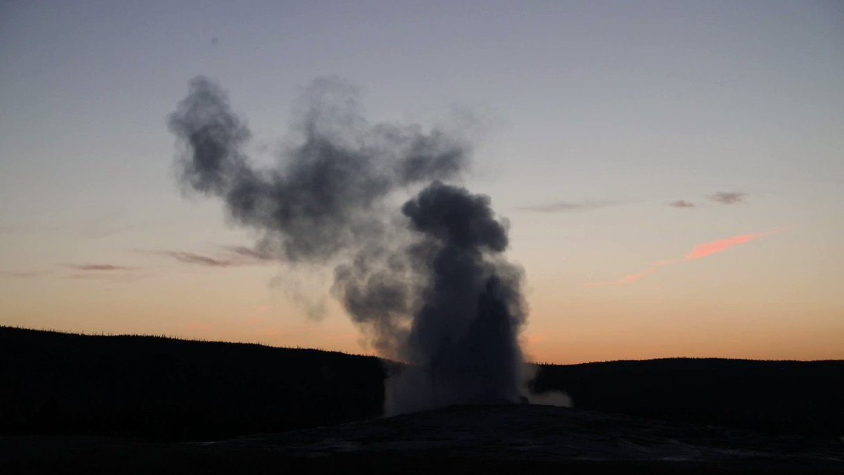 Image for the Tweet beginning: Join us at Old Faithful
