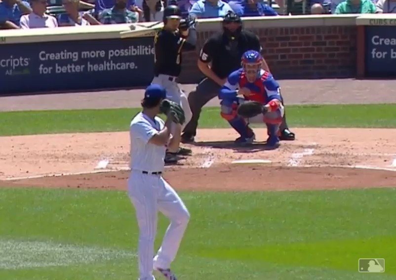 Yu Darvish, 12 up 12 down after 4. 79 mph filthy curveball.