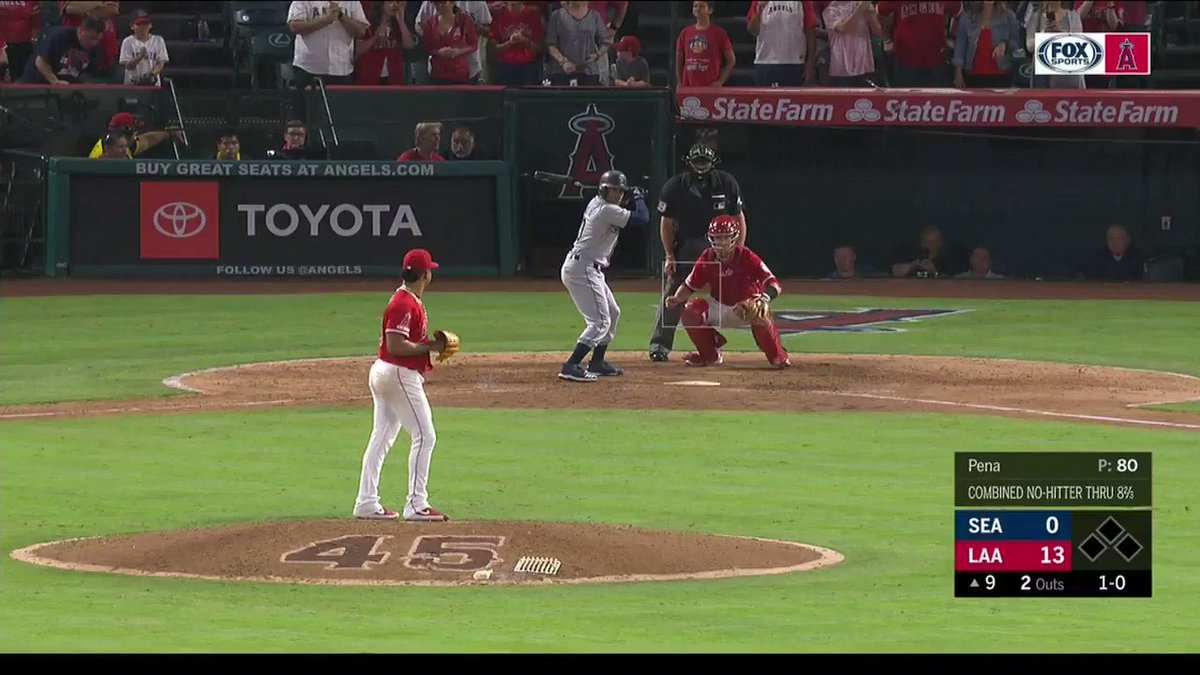 Angels combined No Hitter on the night they honor their friend and teammate Tyler Skaggs. How can you not be romantic about baseball?