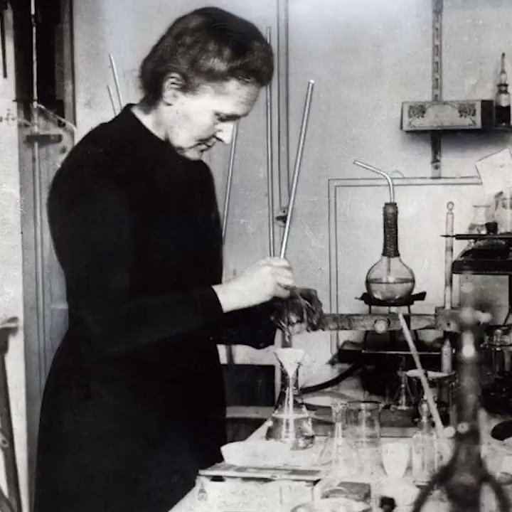 Marie Sklodowska Curie discovered polonium in an experiment conducted #OnThisDay in 1898.  Watch the story behind the discovery of polonium - as well as radium, which was also discovered the same year.
