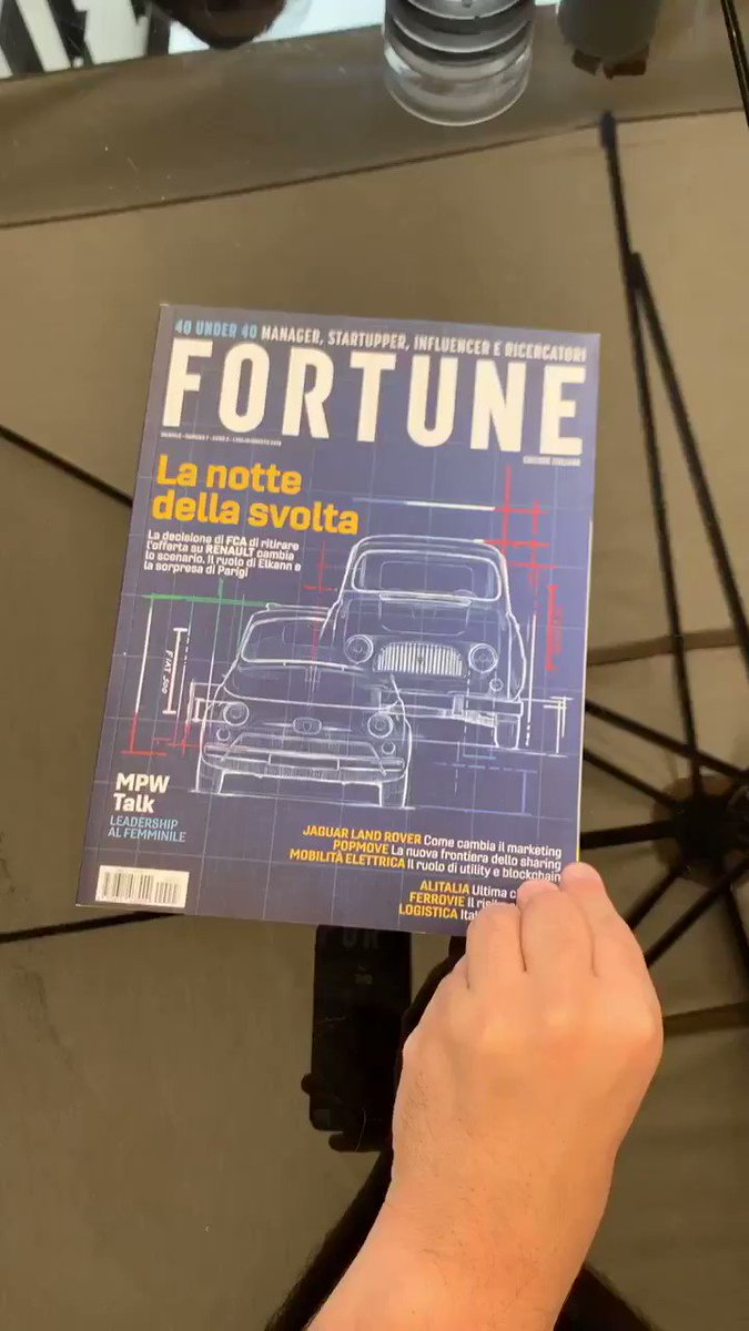 Image for the Tweet beginning: Thank you @FortuneMagazine