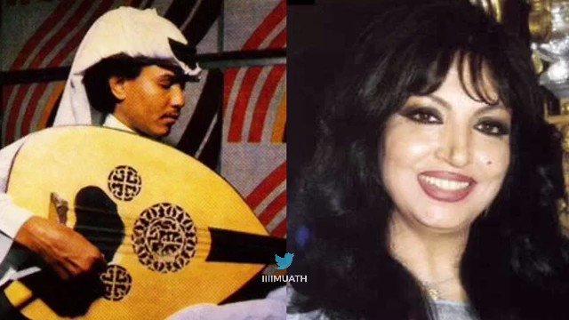 جلسة قديمة عزف أبو نورة وغِناء سميرة توفيق.