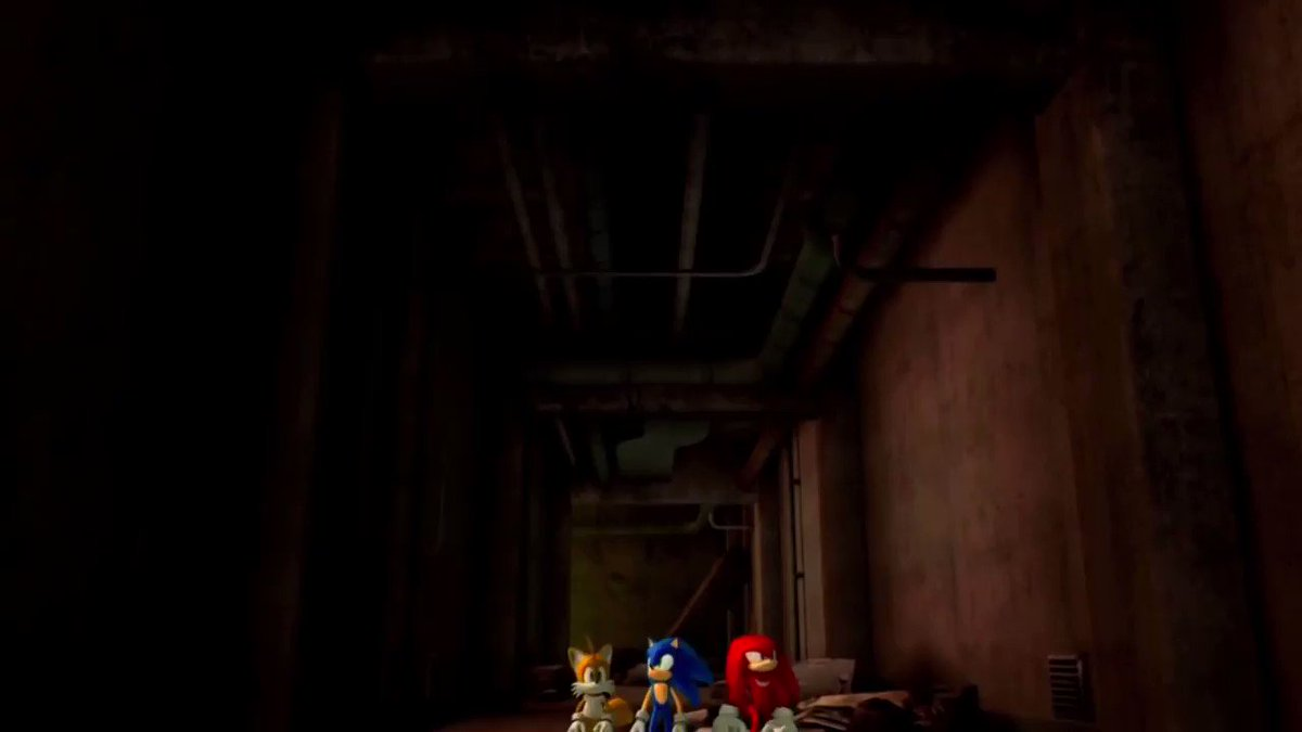 i feel sad when people play sonic 06, but they don't ever talk about that one part where knuckles' ragdoll collapses in the middle of a cutscene