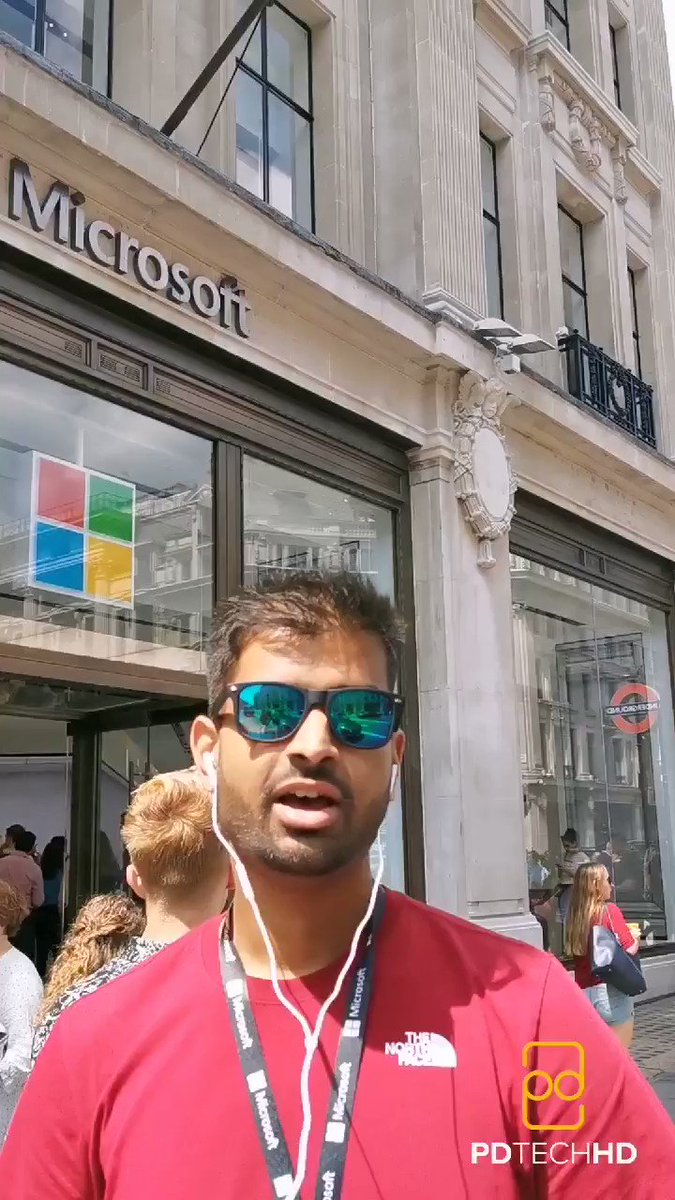 Here's my first IGTV video recapping the experience at the @MicrosoftStore in London the other day. #MicrosoftLDN Full vid 👇🏽https://www.instagram.com/tv/Bz3IAfDlx7y/?igshid=ds7vz950ebbu…