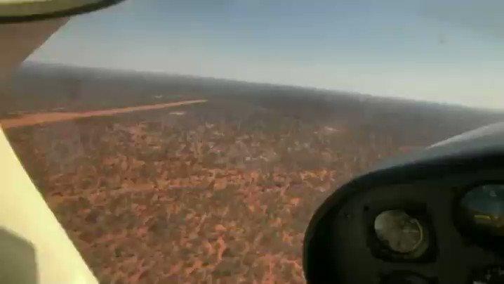 The Limpopo-Lipadi runway in sight. #cessna182