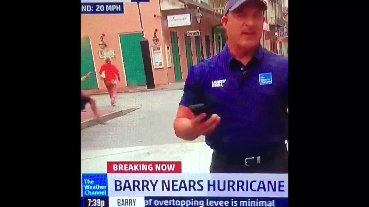 Bourbon Street Drunk x Pink Panther Remix 🔉#HurricaneBarry2019 #Barry