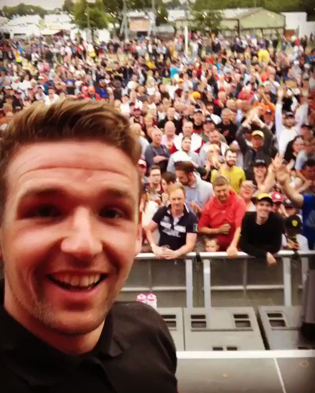 Big thanks to @RAVENOLUK and @RacingPointF1 for having me on the #FanStage the crowd where absolutely amazing!!! @BTCC #BTCC #F1