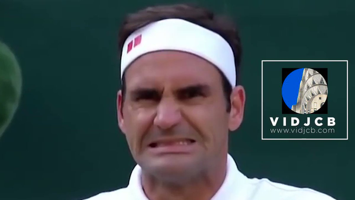 The #Swiss Maestro #RogerFederer made a huge mistake playing the Semis against his friend #RafaelNadal, challenging a point he won already. Thankfully, he ended wining the match and now he is on his 12 #Wimbledon final against #Nole #tennis @rogerfederer @DjokerNole @RafaelNadal