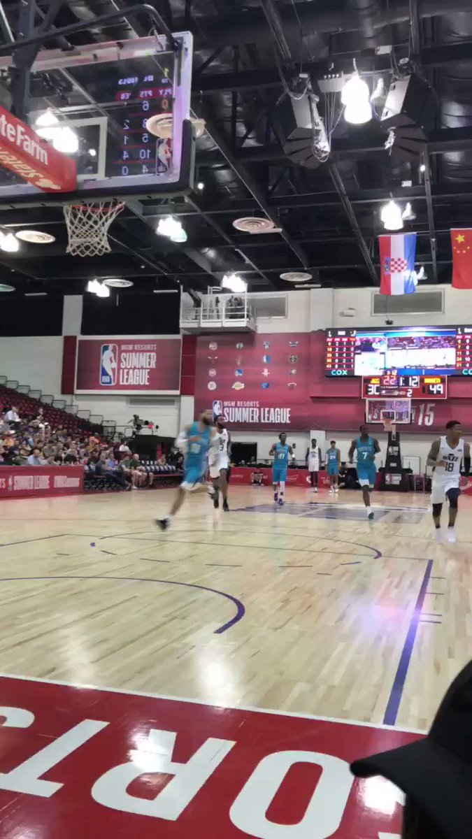 Another angle of the JAM! 💥 #NBASummer