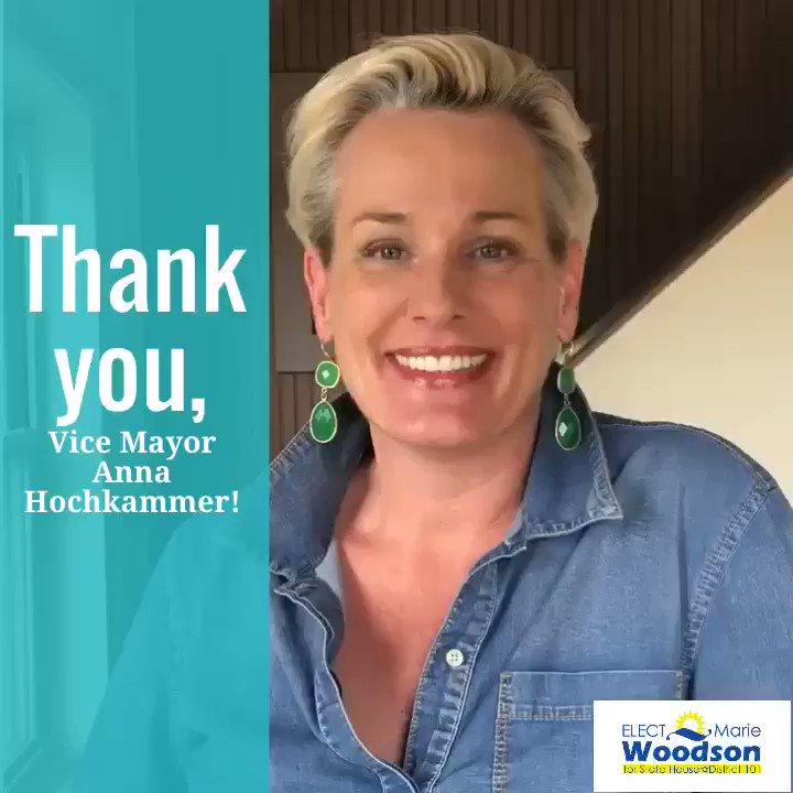 Thank You, Vice-Mayor @AHochkammer!   #TeamWoodson #FLHD101