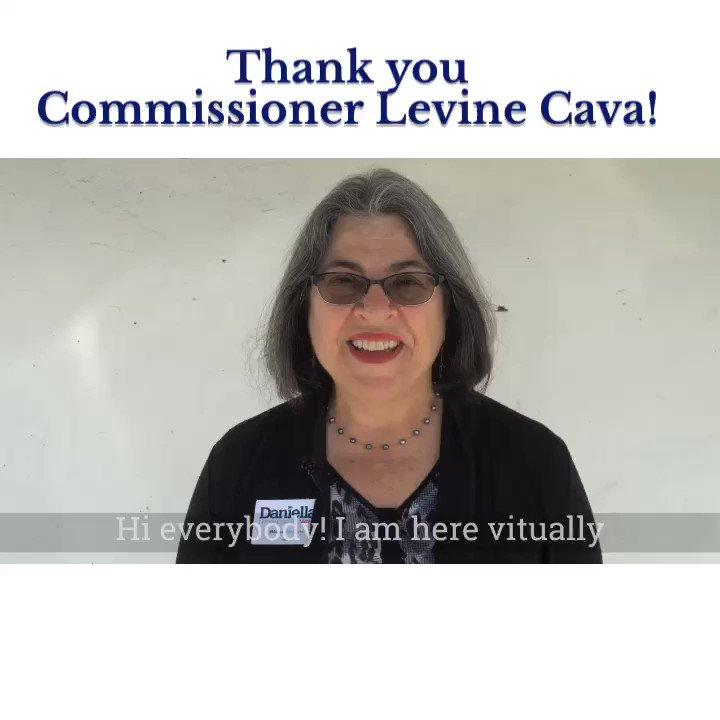 Thank You, Commissioner @DLCAVA!   #TeamWoodson #FLHD101