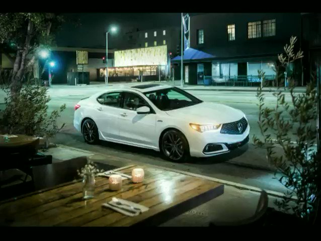 Tonight's special? The #TLX A-Spec.