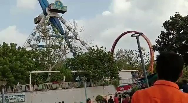 Pendulum ride breaks: Video shows moment pendulum ride at Amedabad, India amusement park breaks in deadly accident