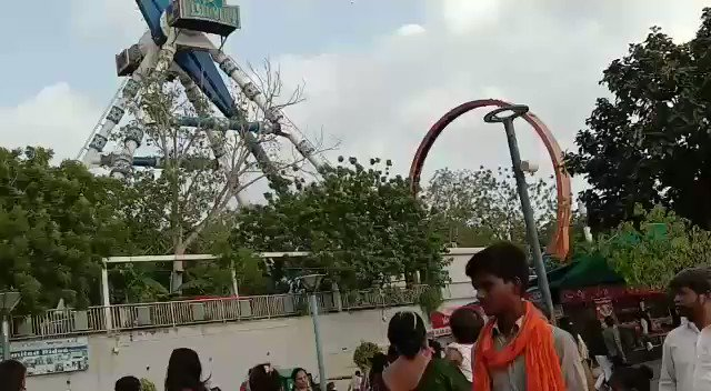 A very sad news #Ahmedabad,  joyride breaks down in #Kankaria adventure park, two killed, 29 injured #accident  #india #indian