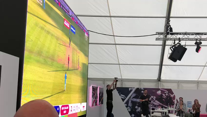 Meanwhile, back at HQ...  We think our Partner Event might be going for a while yet! 😆  Huge congrats to @englandcricket on an incredible #CWC19 victory! 🏏