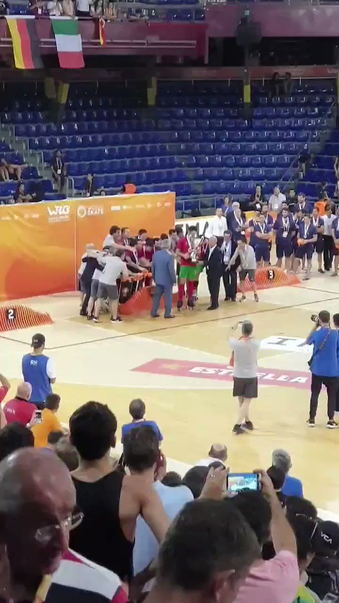 The winner of the @coupedesnations and the @wrgbarcelona 2019... Congratulations PORTUGAL 🇵🇹! See you again in 2021. 😉  #cdn #coupedesnations #montreux #suisse #tournoi #rinkhockey #rollerhockey #hockeypista #hoqueipatins #hockeypatines #worldskate #since1921