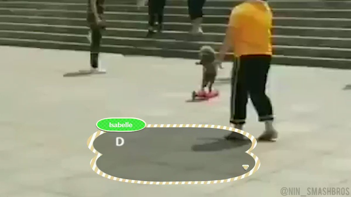 Leaked Animal Crossing: New Horizons intro cutscene (2020)