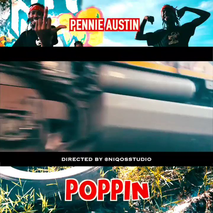New 🎥🎥 alert !  Pennie Austin - Poppin(official video) Out now 👇🏾👇🏾 https://youtu.be/qYkw9M3VAeA