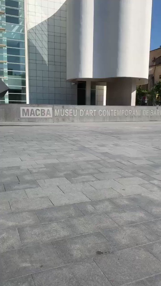 Morning Shoot and it was already 80+ in the shade #Macba #barcelona #worldskate