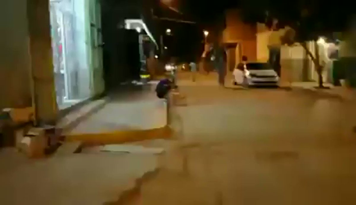 A quiet street in Algeria erupts the moment Mahrez scores that free-kick. What a moment.
