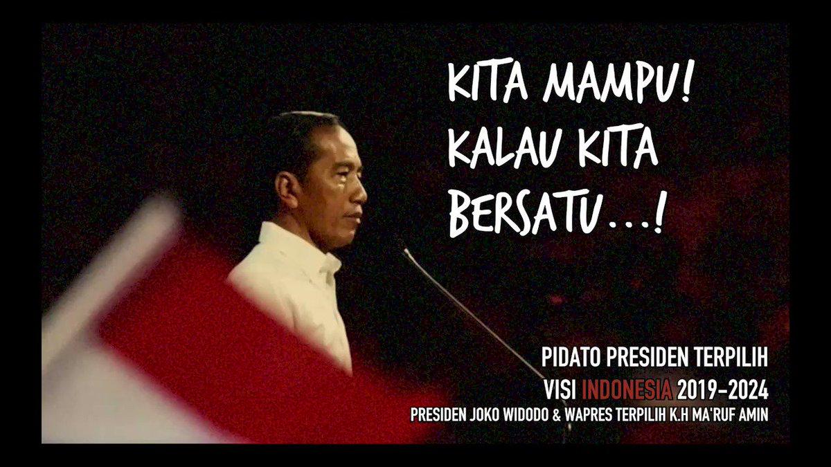Presiden @jokowi sudah membuktikan sendiri bagaimana menjadi manusia tidak kenal menyerah. Bagaimana dengan kita?