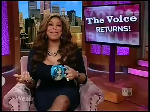 Wendy Williams making fun of Aguileras blaccent